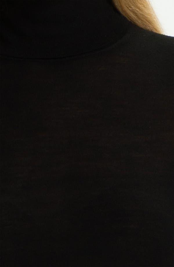 Alternate Image 3  - BOSS HUGO BOSS Wool Jersey Turtleneck