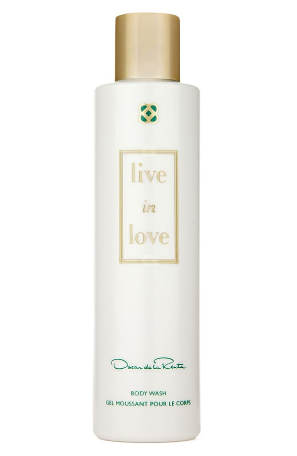 Alternate Image 1 Selected - Oscar de la Renta 'Live in Love' Body Wash