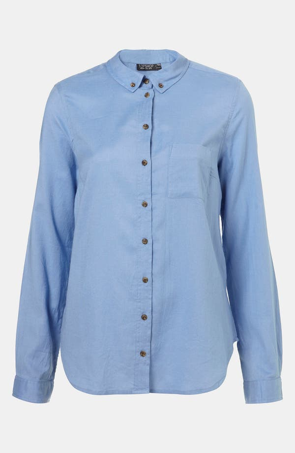 Alternate Image 1 Selected - Topshop Oxford Shirt
