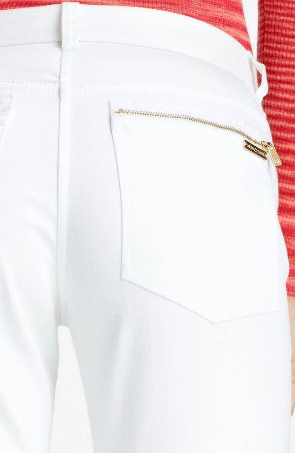 Alternate Image 4  - Michael Kors Stovepipe Stretch Jeans