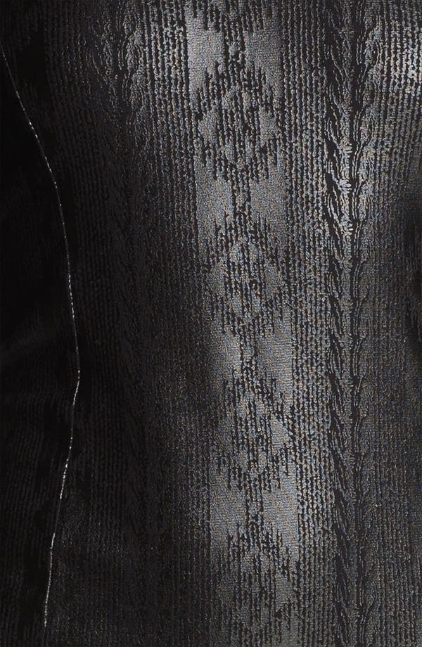 Alternate Image 3  - Obey 'Desert Rain' Coated Print Dress