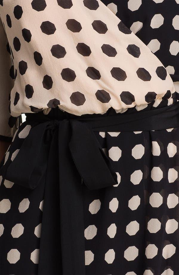 Alternate Image 3  - Trina Turk 'Miss Taro' Dot Print Silk Dress