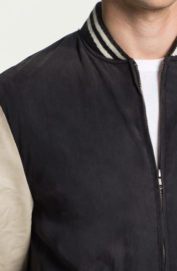 Alternate Image 3  - Just A Cheap Shirt 'Varsity' Jacket