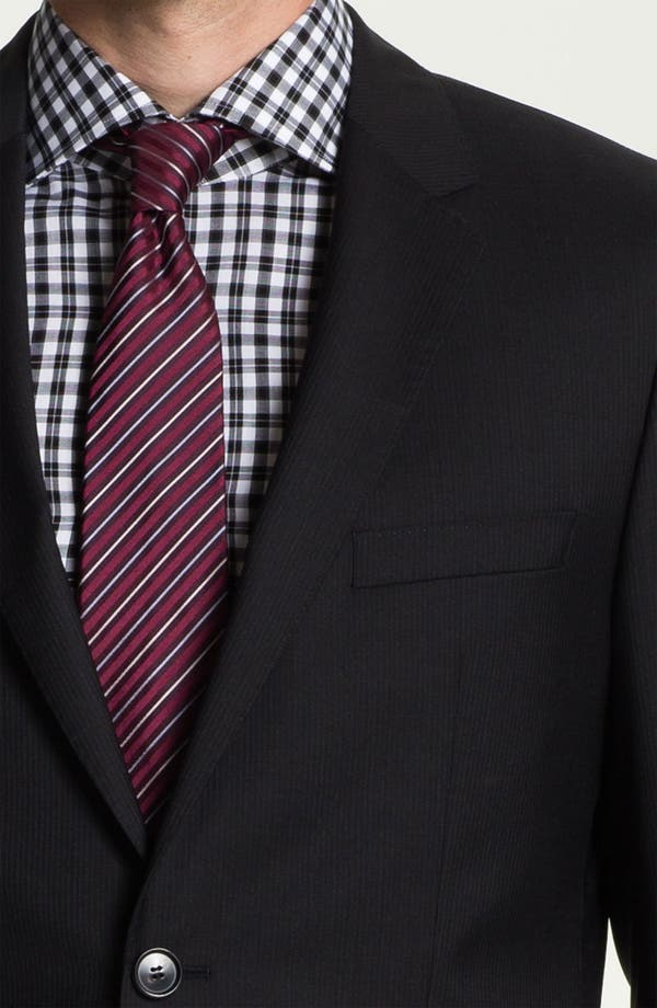Alternate Image 6  - BOSS Black 'Jam/Sharp' Trim Fit Stripe Suit