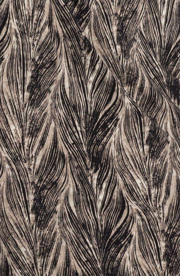 Alternate Image 3  - Anne Klein Feather Print Dress (Petite)
