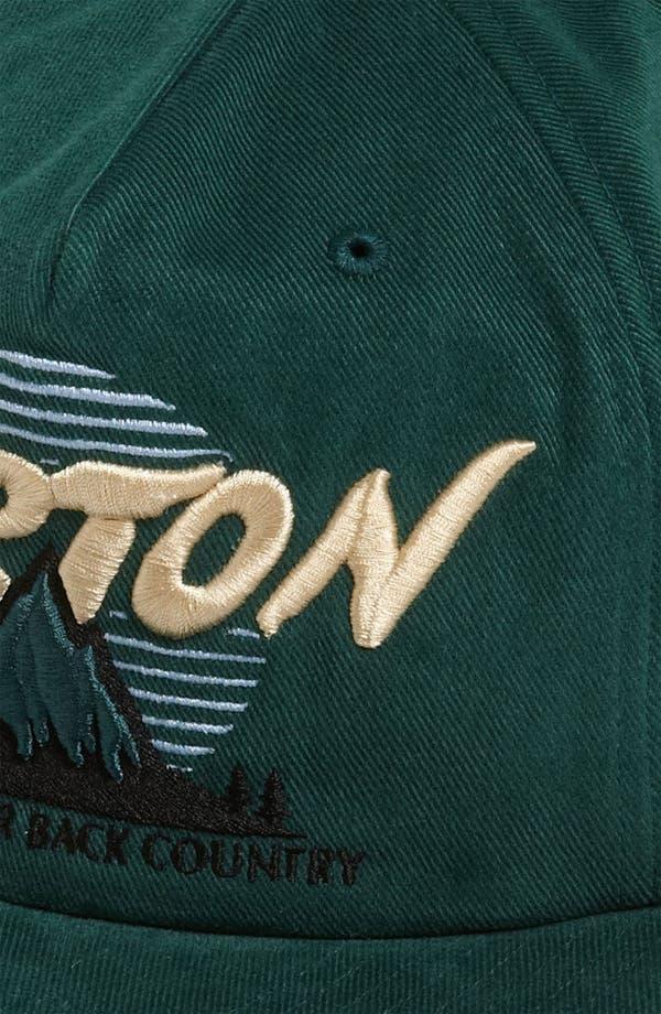Alternate Image 2  - Burton 'Bagger' Snapback Baseball Cap