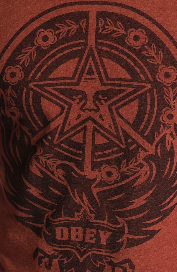 Alternate Image 3  - Obey 'Peace Phoenix' T-Shirt