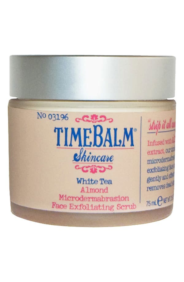 Main Image - theBalm® 'TimeBalm®' Almond Microdermabrasion Face Exfoliating Scrub