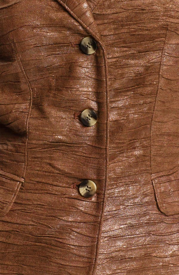 Alternate Image 3  - Conrad C Collection Crushed Faux Suede Jacket