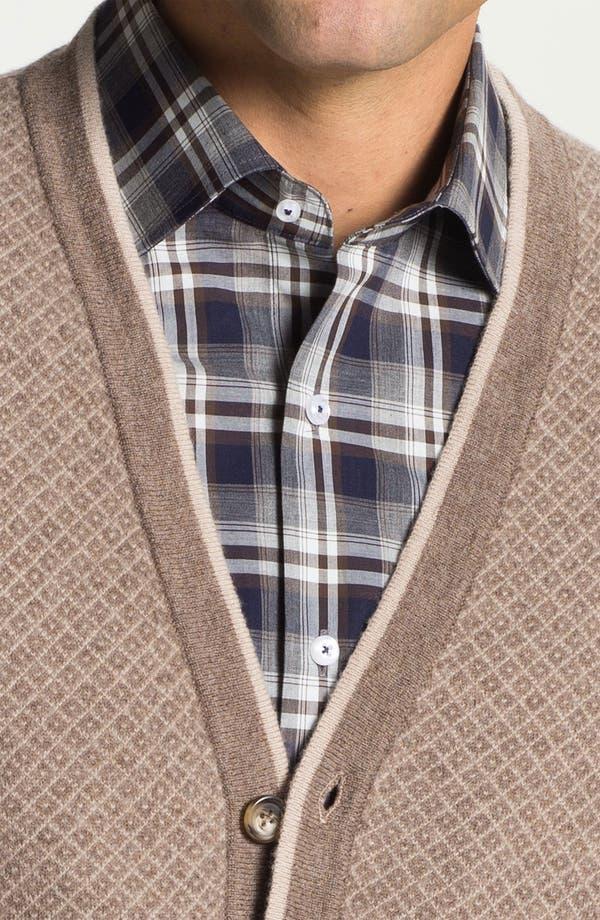Alternate Image 3  - Franco Danti Wool Button Cardigan