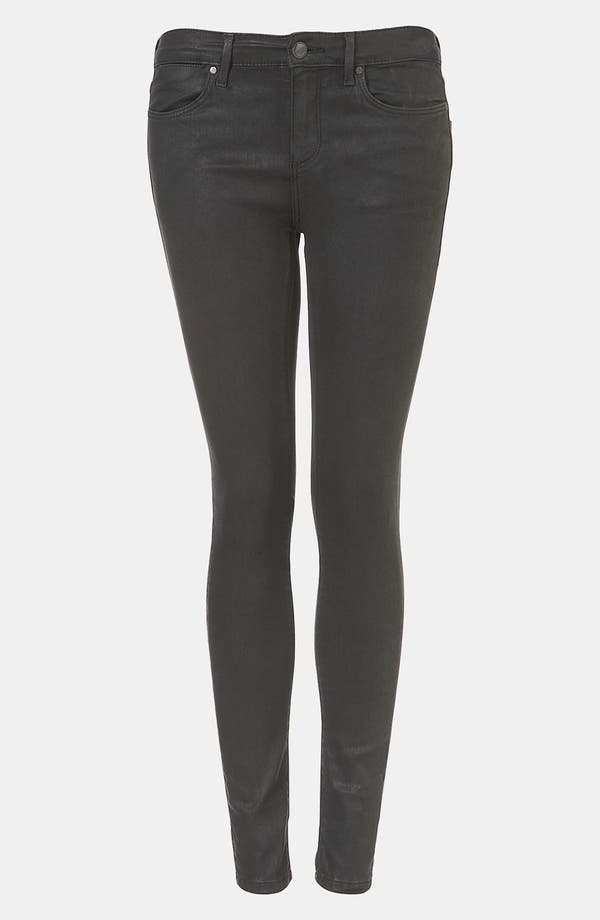 Main Image - Topshop Moto 'Leigh' Skinny Jeans (Black)