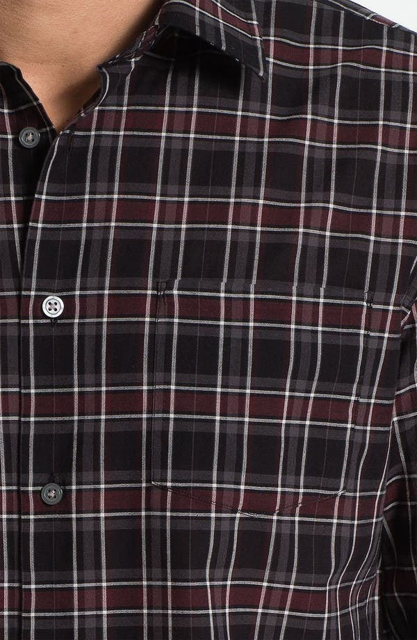 Alternate Image 3  - John Varvatos Star USA Trim Fit Sport Shirt