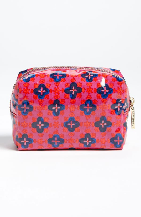 Alternate Image 4  - Tory Burch 'Brigitte' Cosmetics Case