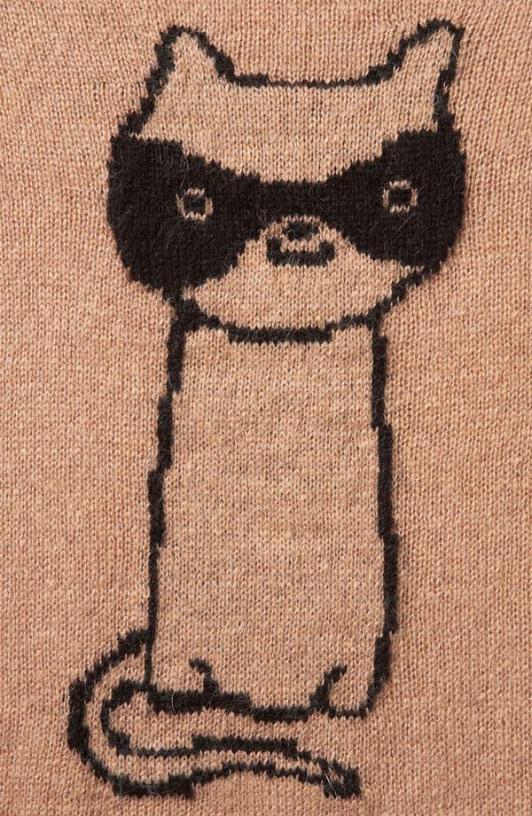 Alternate Image 3  - Topshop 'Cat Burglar' Graphic Sweater (Petite)