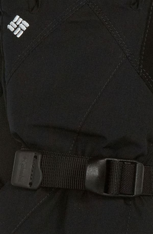 Alternate Image 2  - Columbia 'Whirlibird II' Omni-Tech® Waterproof Gloves