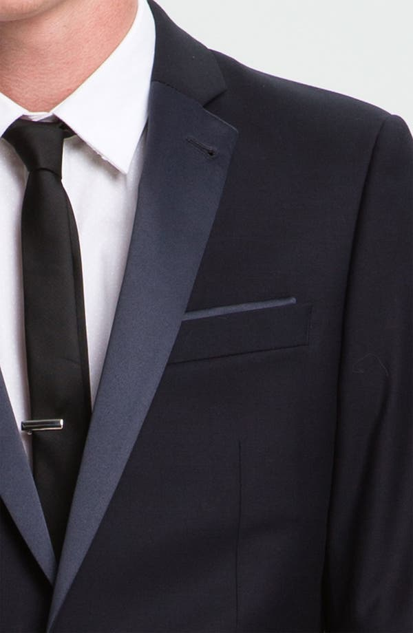 Alternate Image 3  - Topman Skinny Fit Single-Button Tuxedo Jacket