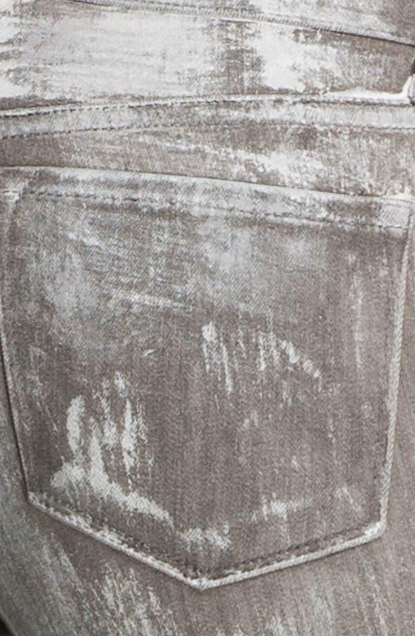 Alternate Image 3  - J Brand Skinny Denim Leggings (Coated Sutra)