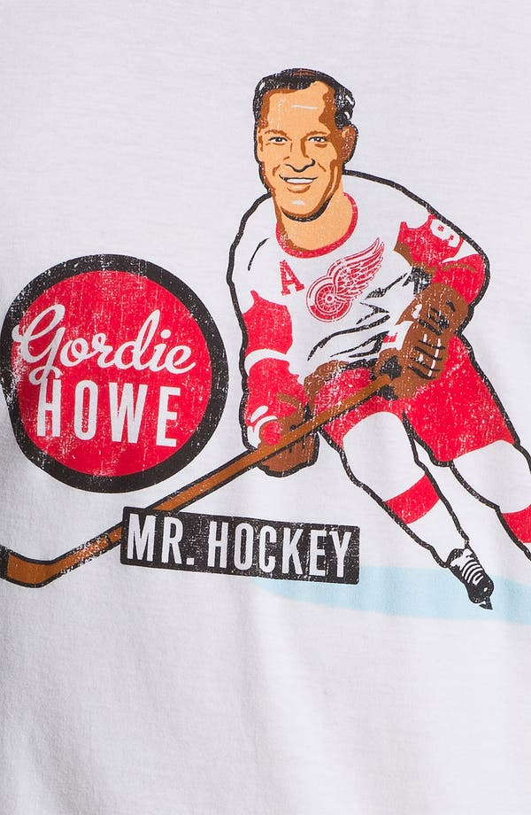 Alternate Image 3  - Red Jacket 'Hyperbole - Gordie Howe' T-Shirt