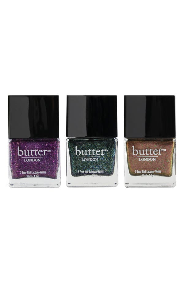 Main Image - butter™ LONDON Glitter Lacquer Trio ($42 Value)