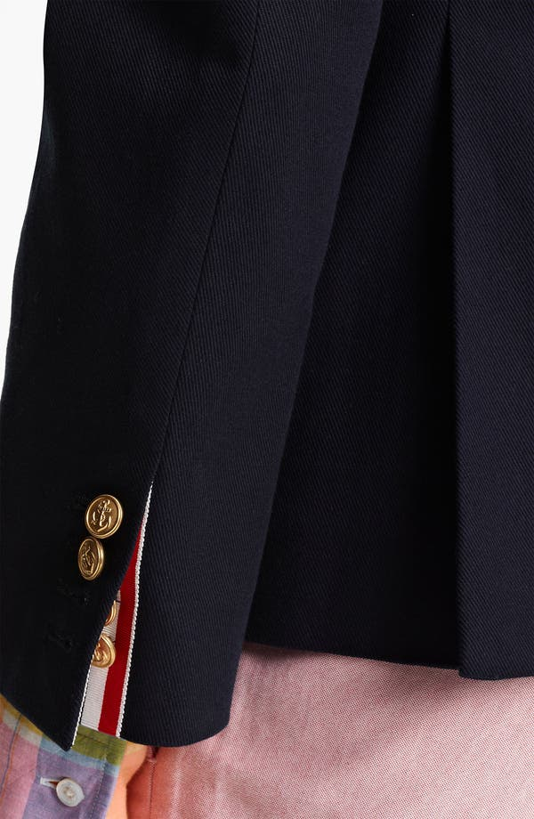 Alternate Image 3  - Thom Browne Classic Three-Button Blazer