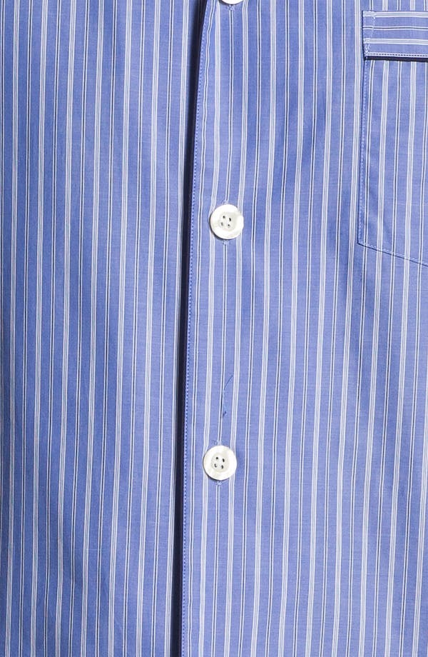 Alternate Image 3  - Brooks Brothers 'Ground Stripe' Pajamas