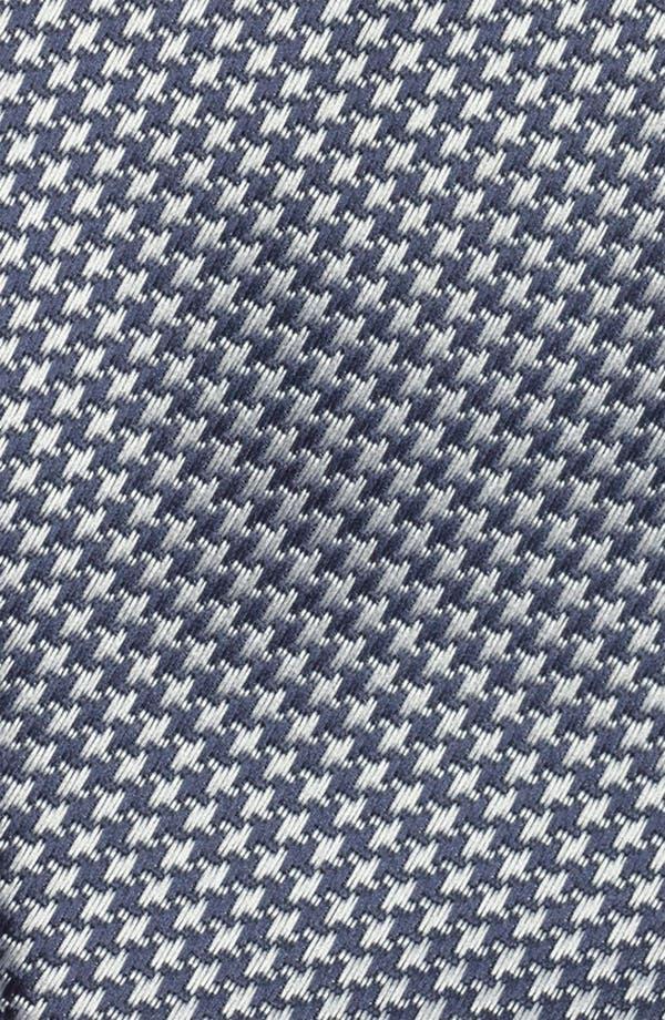 Alternate Image 2  - Topman Houndstooth Woven Tie