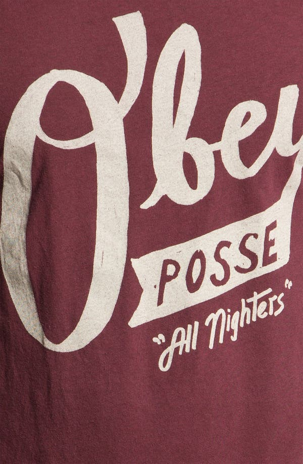 Alternate Image 3  - Obey 'All Nighters' Graphic T-Shirt
