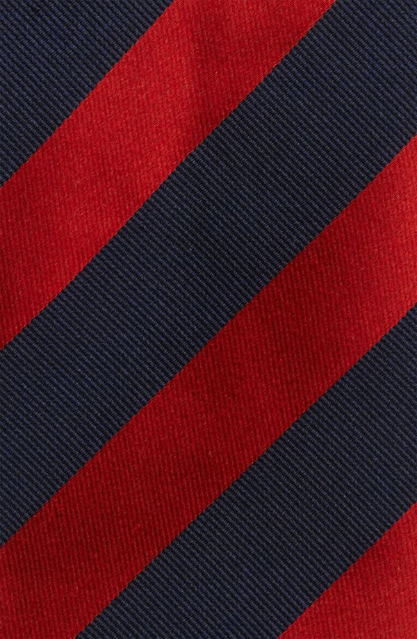 Alternate Image 2  - Thomas Pink Woven Silk Tie