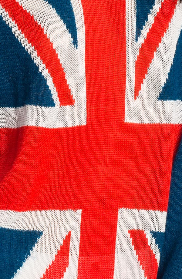 Alternate Image 3  - Wildfox 'Save The Queen' Union Jack Sweater
