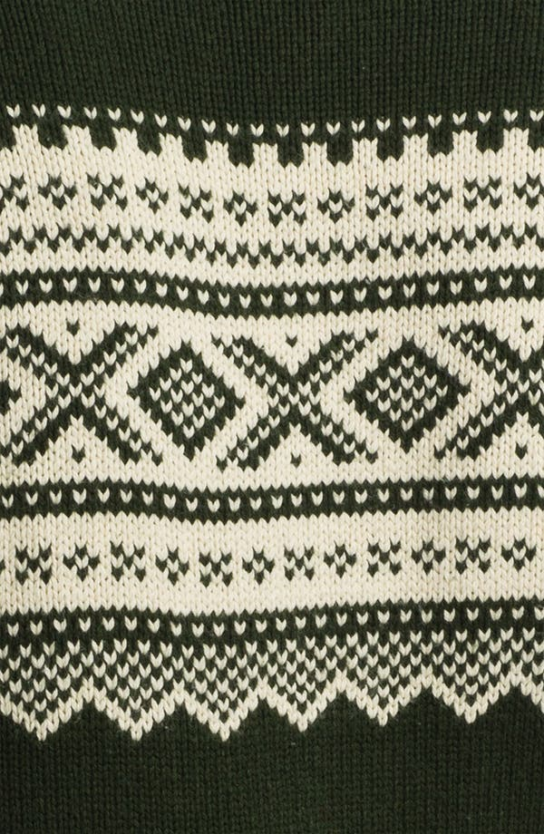 Alternate Image 3  - Gant Rugger Jacquard Crewneck Sweater