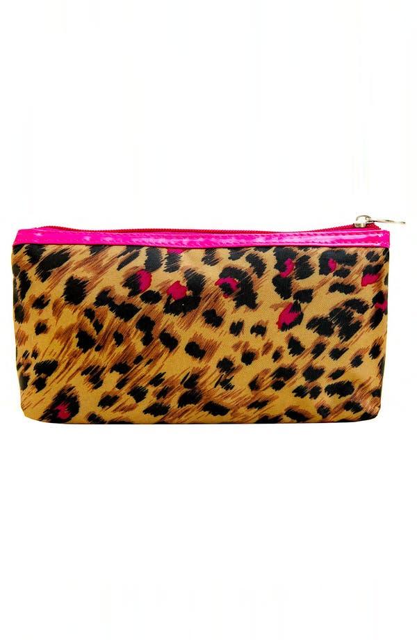 Alternate Image 3  - Tricoastal Design 'Leopard' Cosmetics Bag Set