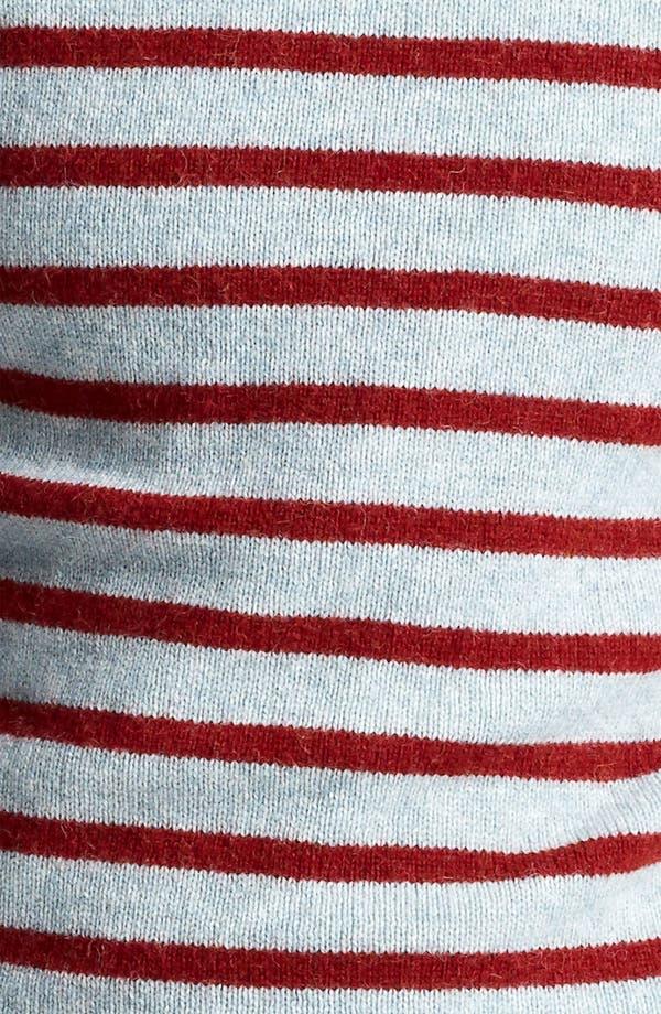 Alternate Image 3  - A.P.C. Stripe Crewneck Sweater