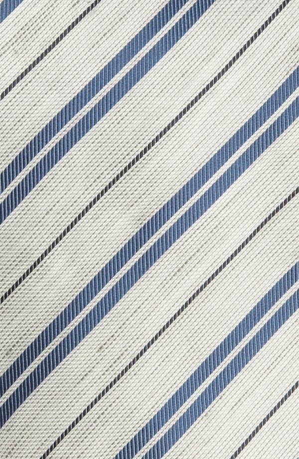 Alternate Image 2  - Armani Collezioni Silk Blend Tie