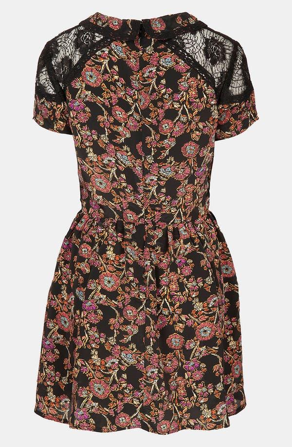 Alternate Image 2  - Topshop 'Sketch' Floral Lace Dress