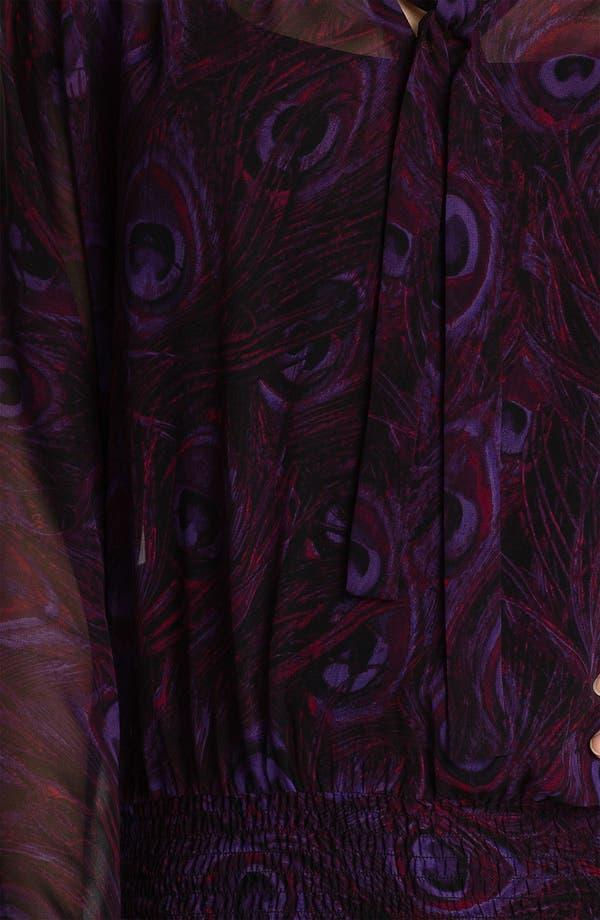 Alternate Image 3  - MICHAEL Michael Kors Tie Neck Blouse (Petite)