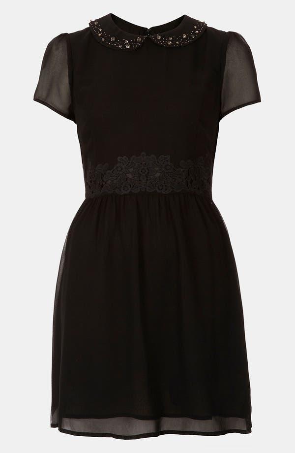 Alternate Image 1 Selected - Topshop 'Flippy' Chiffon Dress