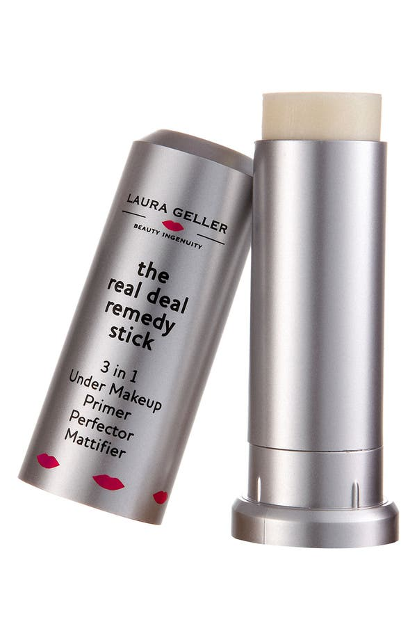 Alternate Image 1 Selected - Laura Geller Beauty 'The Real Deal Remedy Stick' Primer & Mattifier