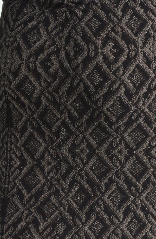 Alternate Image 3  - KAMALIKULTURE Contoured Print Sheath Dress