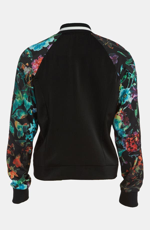 Alternate Image 2  - Mural 'Low Blocked' Bomber Jacket