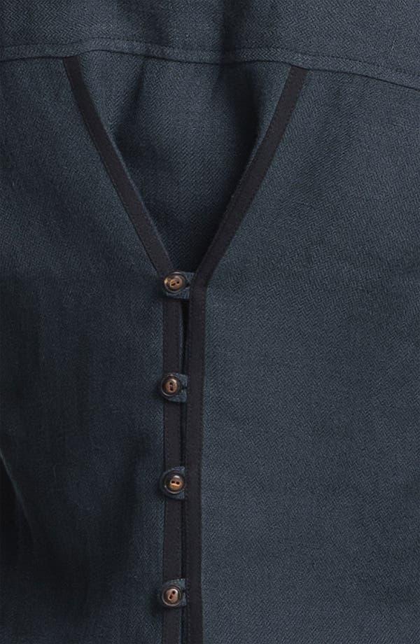 Alternate Image 5  - Elizabeth and James 'New Bedford' Rumpled Linen Jacket