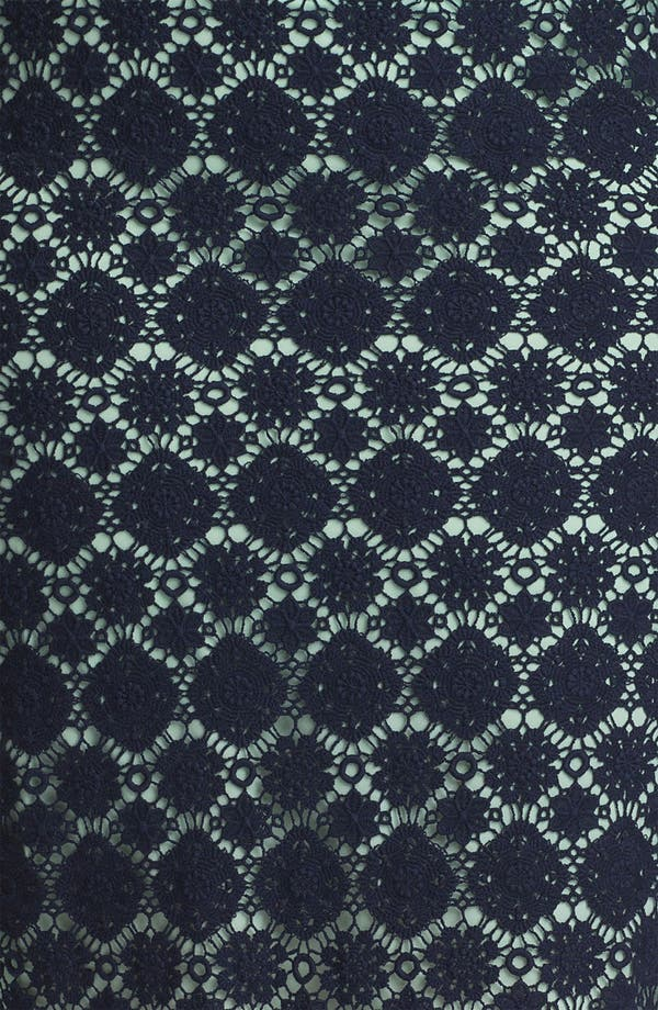 Alternate Image 3  - Vince Camuto Lace Pencil Skirt (Plus)