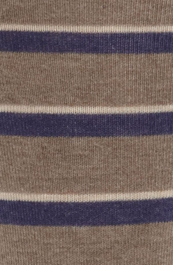 Alternate Image 2  - Nordstrom Stripe Cushioned Socks