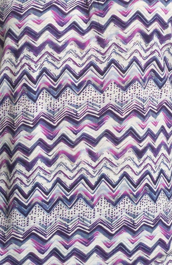 Alternate Image 3  - Lucky Brand 'Ezra' Stripe Cotton Top (Plus)