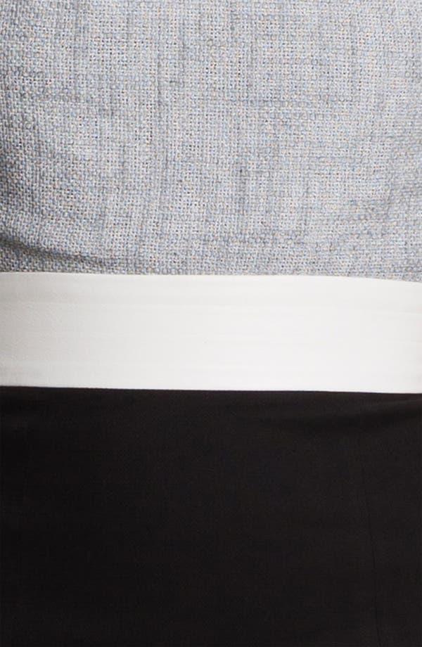 Alternate Image 3  - L'AGENCE Pleated Bodice Dress