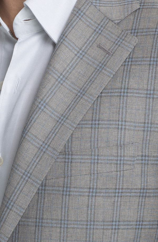 Alternate Image 3  - Canali Windowpane Sportcoat
