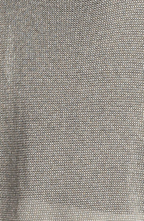 Alternate Image 3  - Vince Crop Metallic Sweater