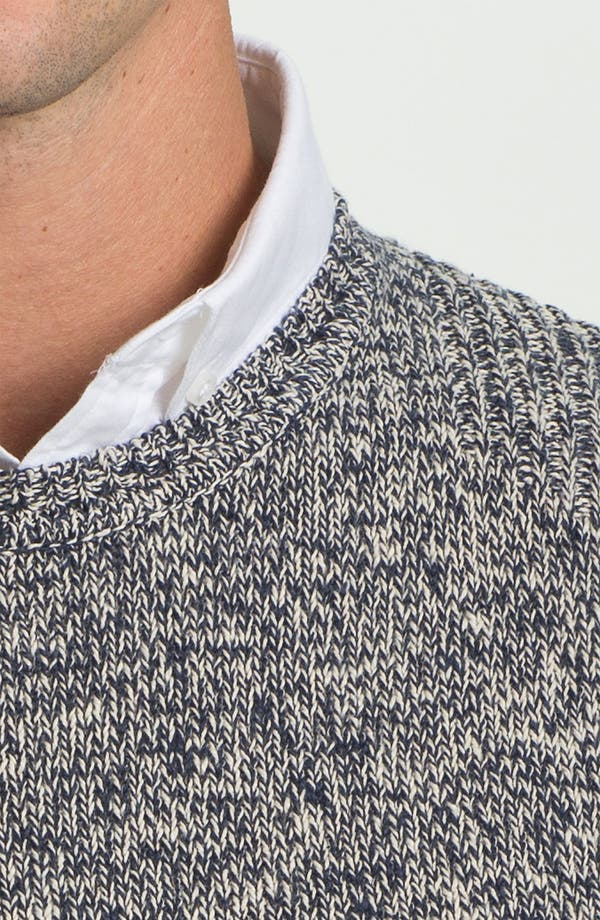 Alternate Image 3  - Ted Baker London 'Keyston' Cotton & Linen Crewneck Sweater