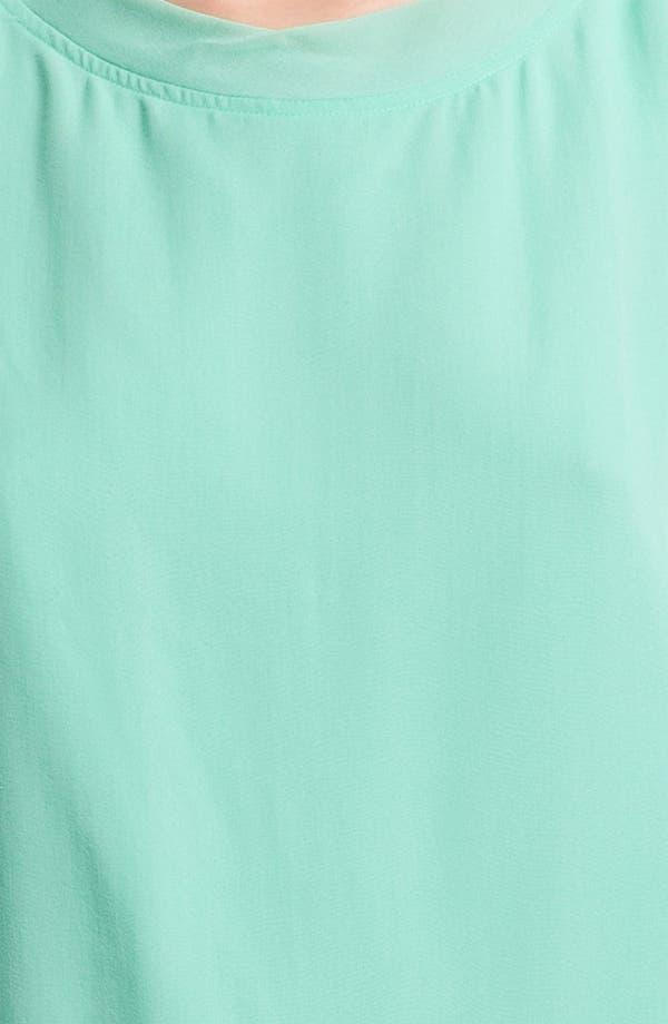 Alternate Image 4  - Tracy Reese Tie Back Silk Tank