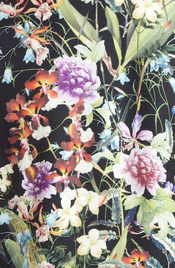 Alternate Image 3  - Mural Floral Print Tux Vest