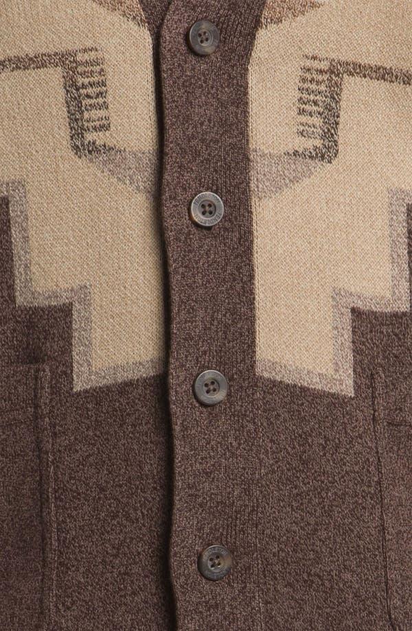 Alternate Image 3  - Pendleton Cotton Jacquard Cardigan